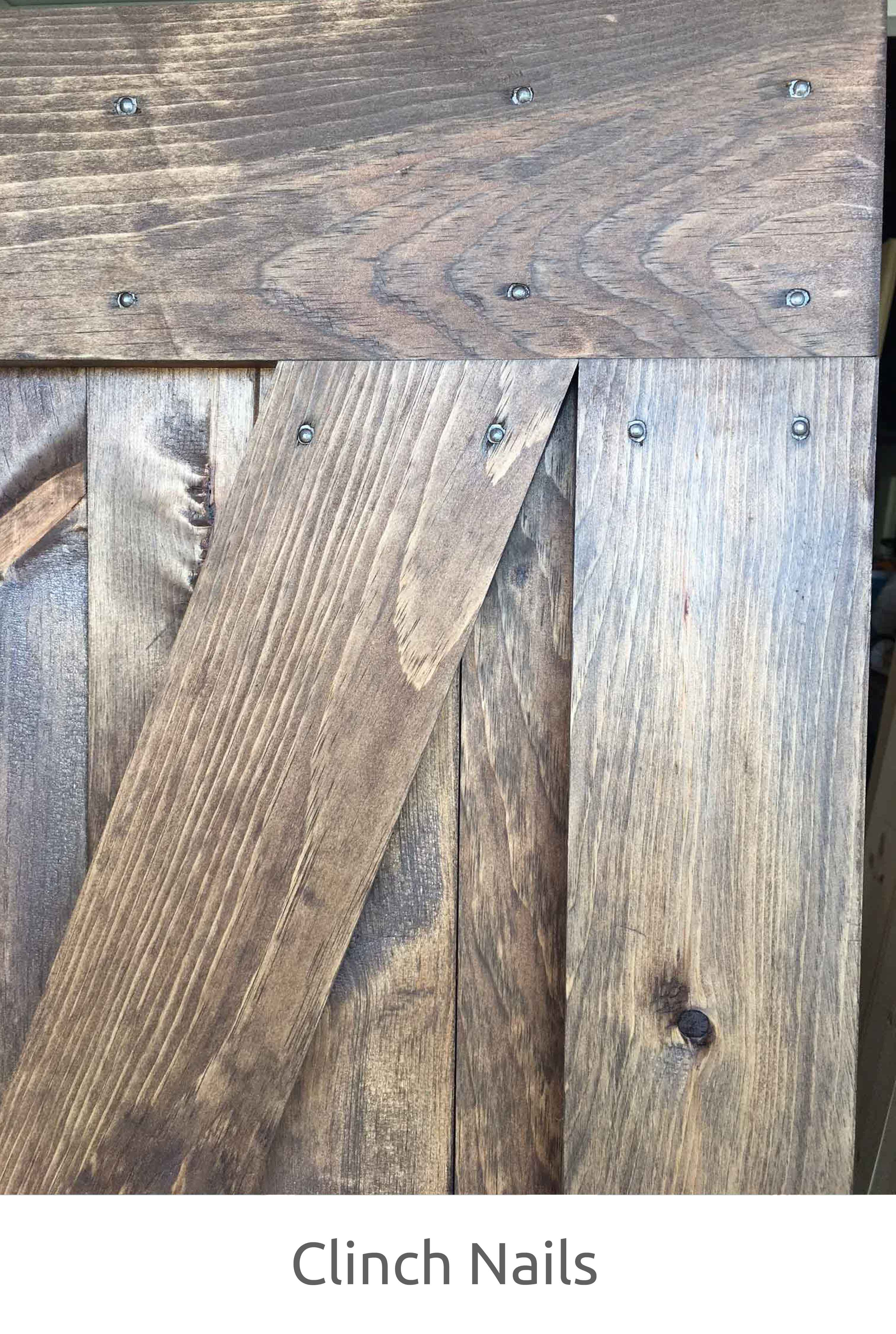 Alternatively we can use brass screws which are drilled in from the back of the door and are not visible from the front (design side) of the door. & Door Construction » RusticRoo Designs